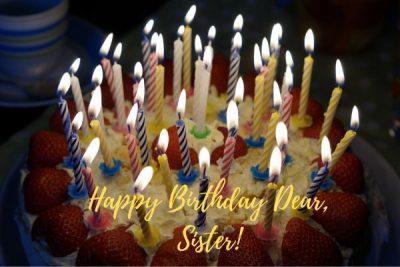 happy birthday sister gif