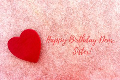 happy birthday images to sister