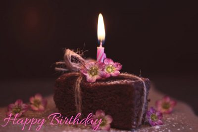 happy birthday wishes images with flowers