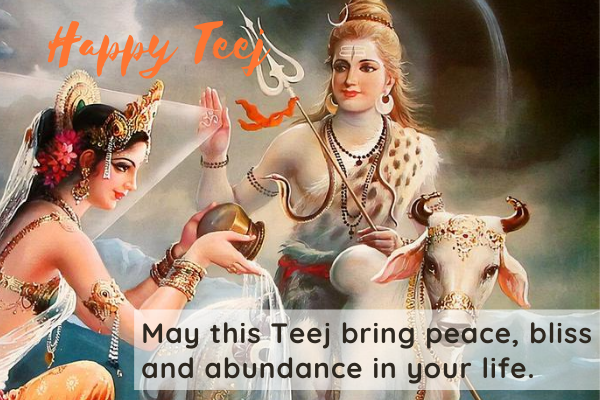 Happy Teej Wishes 2020 Quotes & Message Hindu Festival