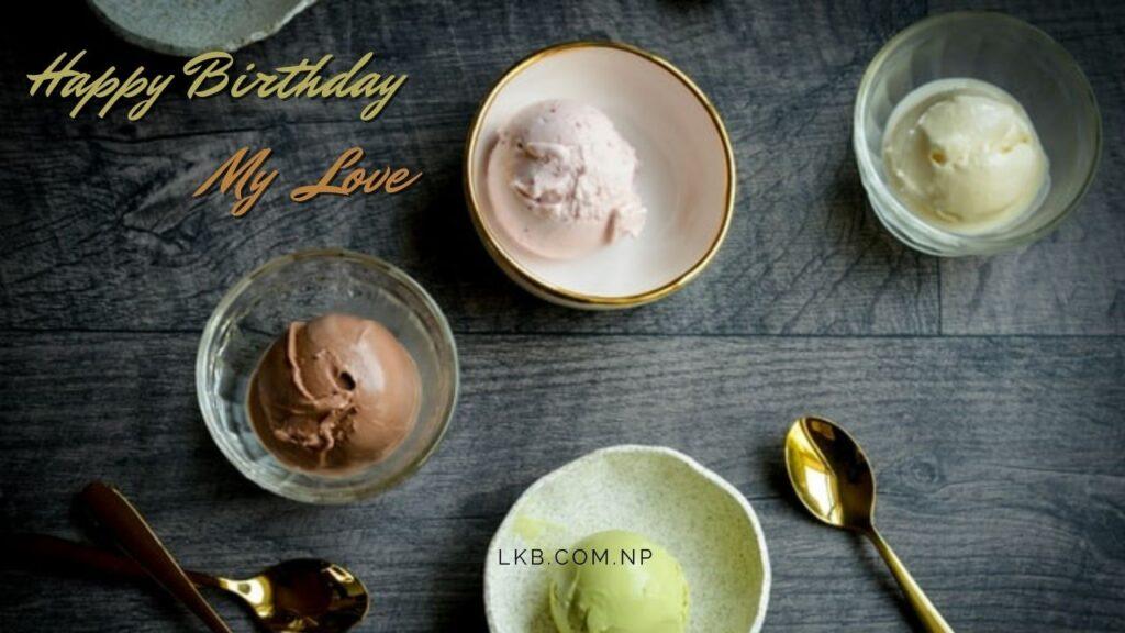 ice-cream desert small bowl