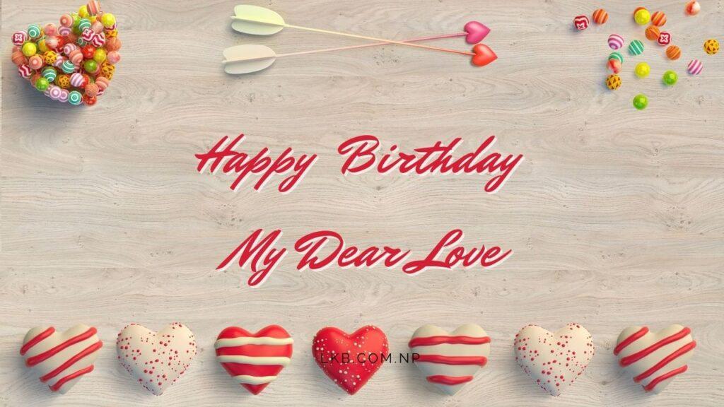 7 heart birthday love