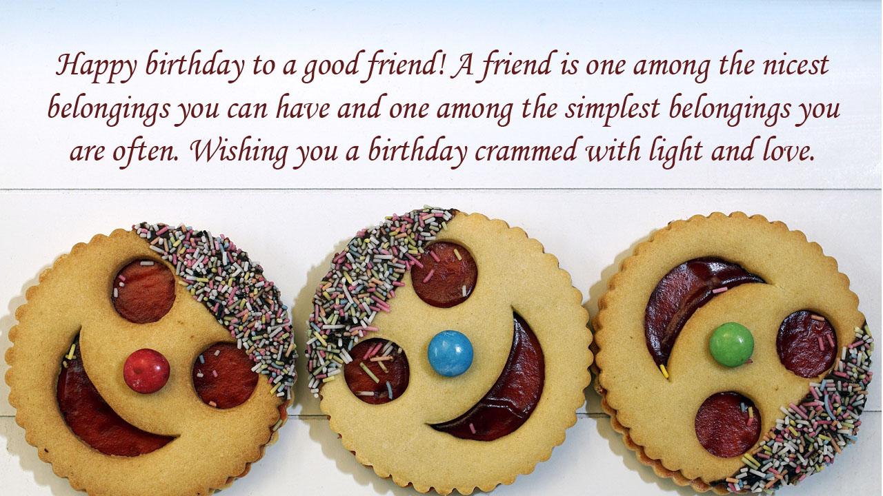 friend birthday biscuit quotes