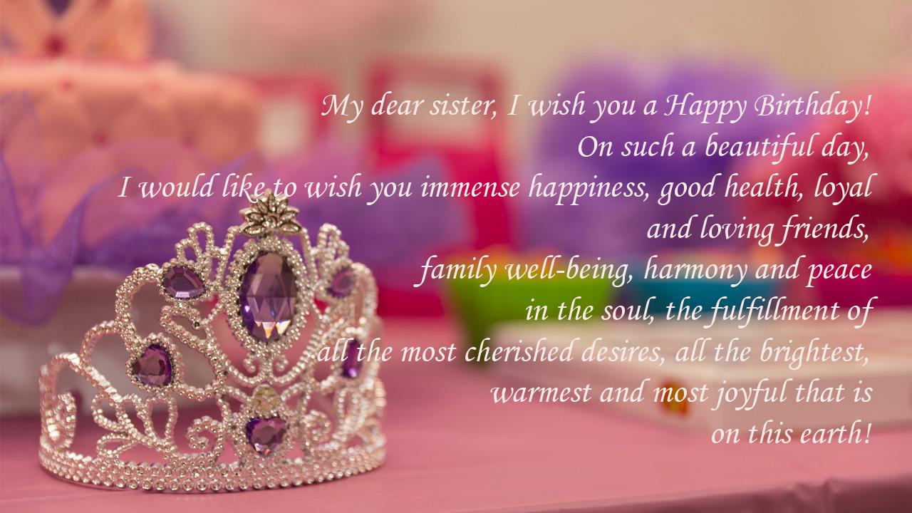 birthday crown sister