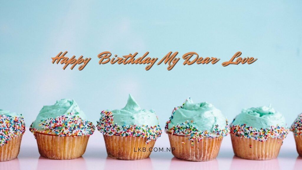 cup cake birthday love