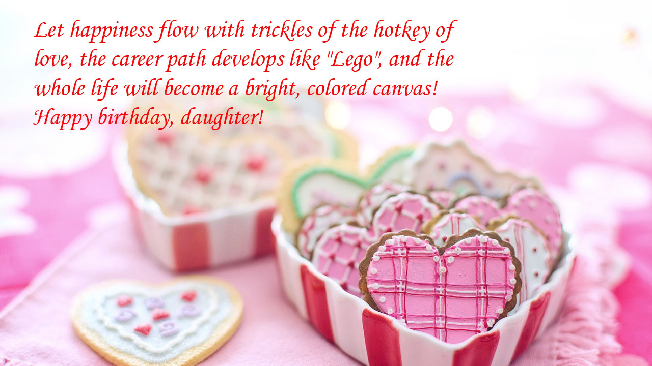 love chocolate wishes for daughter