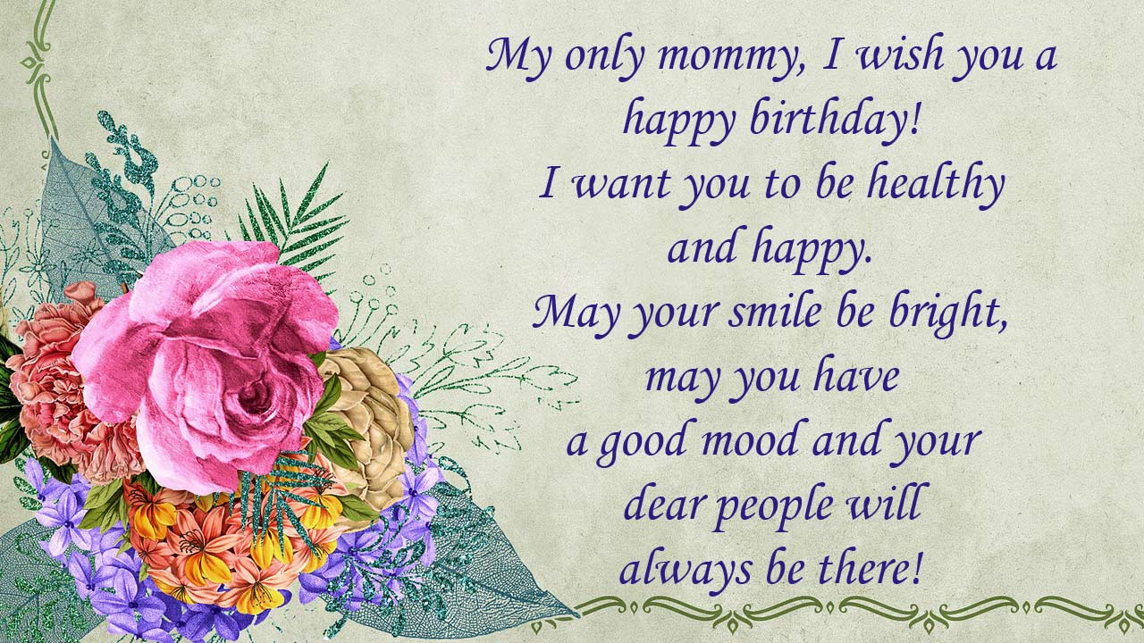 birthday message mom
