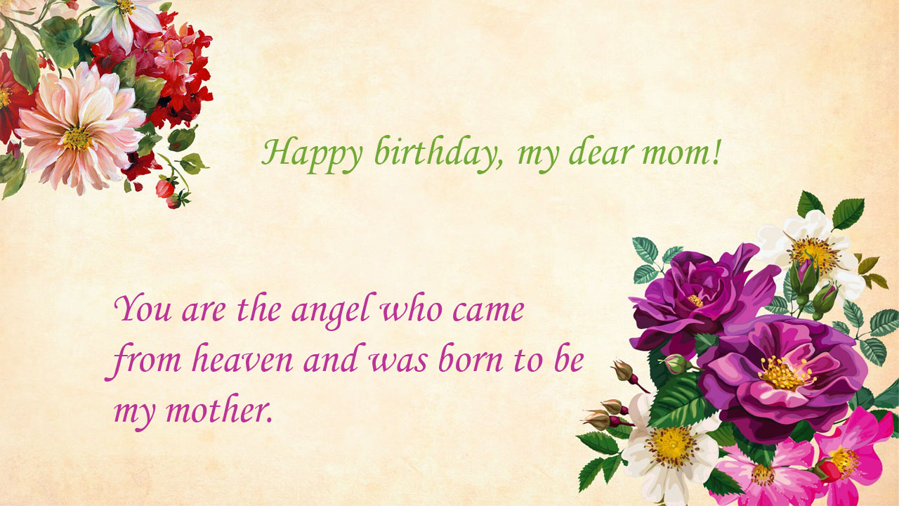 birthday quotes mom