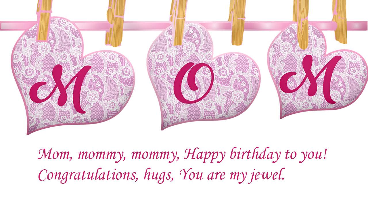 mom wishes birthday