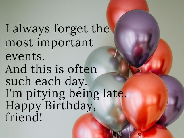 wishes birthday belated