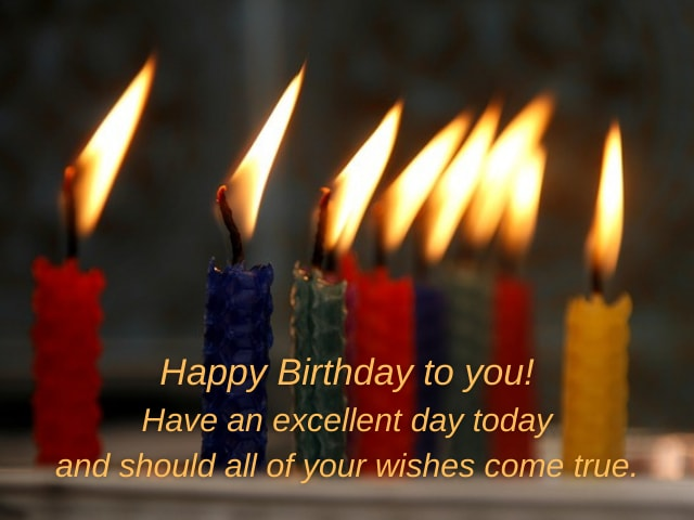 free birthday wishes messages